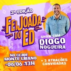 MESA 60 - 06 LUGARES - FEIJOADA DO ED - 06/06/2020