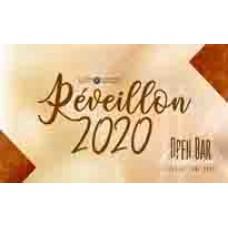 INGRESSO MASCULINO - INDIVIDUAL - RÉVEILLON 2020 - BARTOLOMEU JK - 31/12/2019