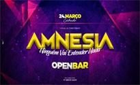 AMNESIA - OPEN BAR 24/03/18